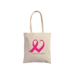Tote Bag Nastro Rosa - Cuore
