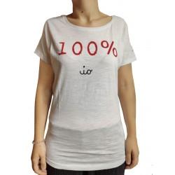"T-shirt ""100% io"""