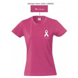 T-shirt Nastro Rosa
