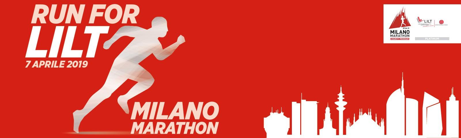 Corri con noi alla Milano Marathon