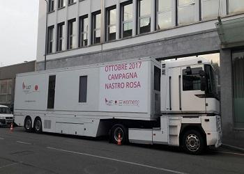 Unità Mobile LILT: iniziato il tour!