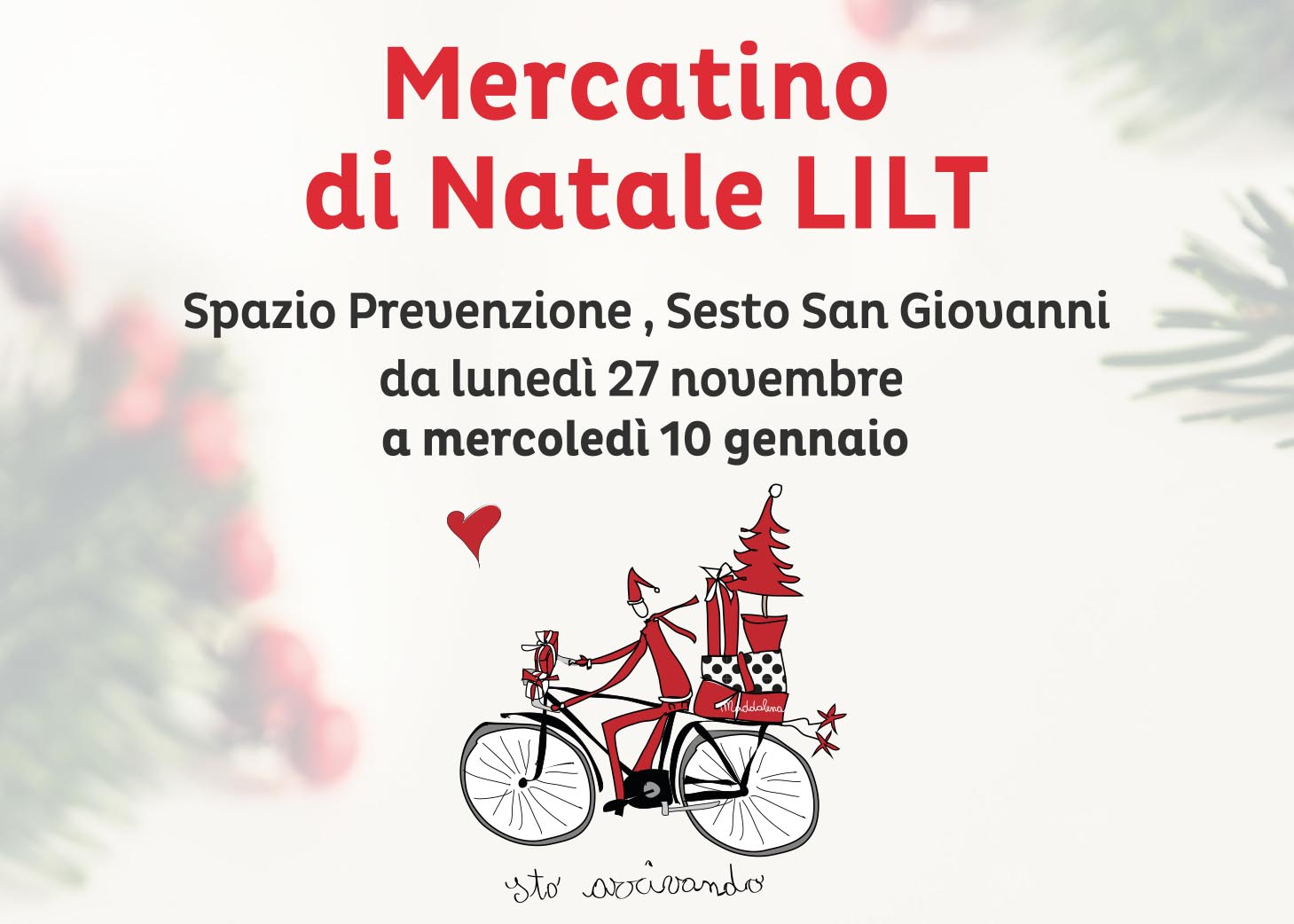 Mercatino solidale a Sesto San Giovanni