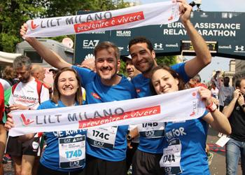 Milano Marathon con la LILT