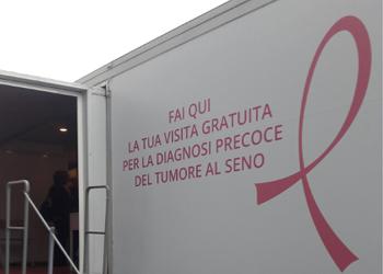 Tour Unità Mobile Nastro Rosa 2018