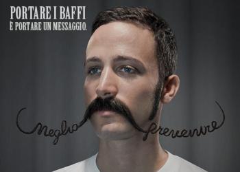 MoveMen, la prevenzione coi baffi