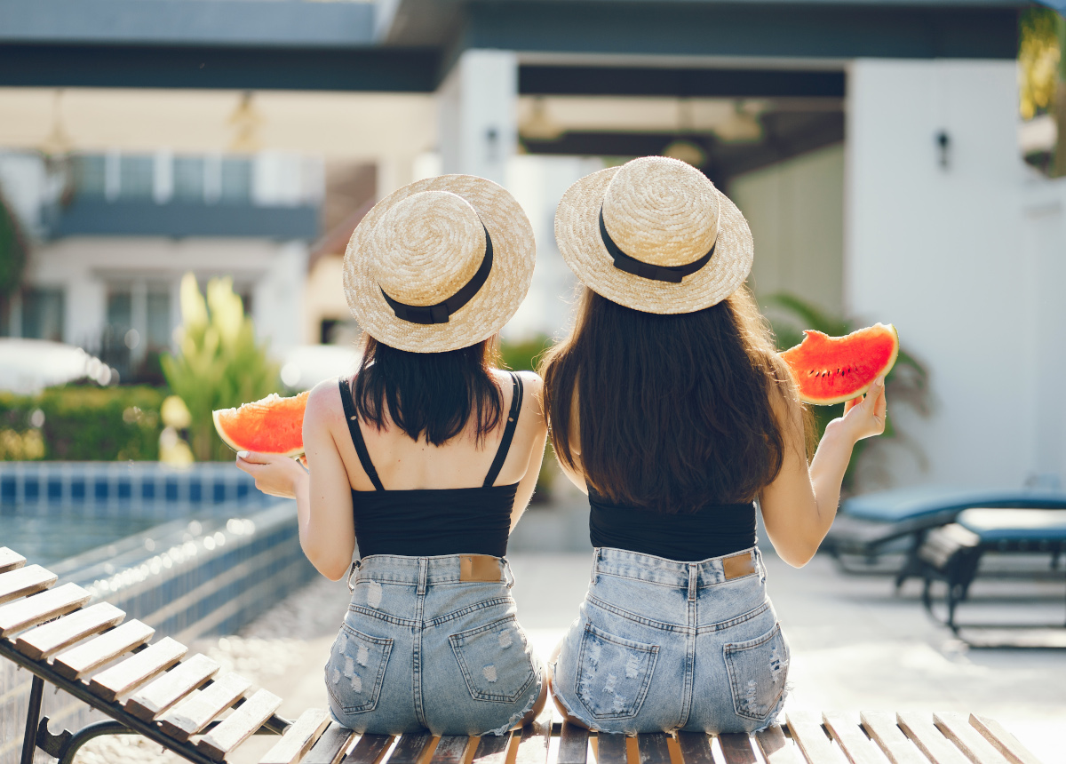 Coi colori dell'estate la salute entra nel piatto