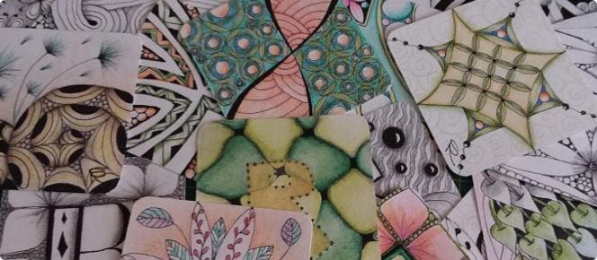 Tangle Art - Arte grafica meditativa