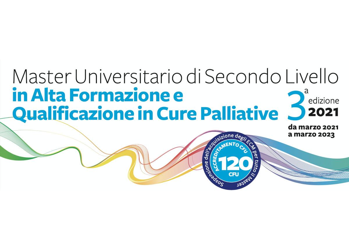 Al via la terza edizione del Master di II livello in Cure Palliative