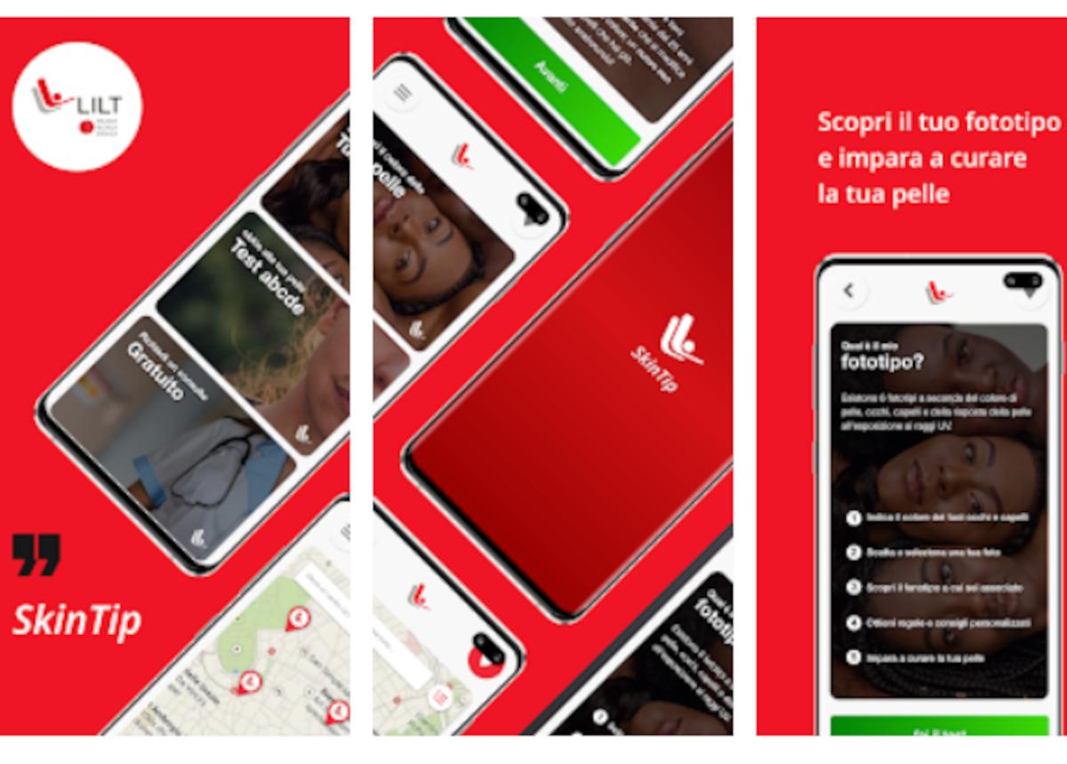 SkinTip: l'app per verificare la salute della pelle