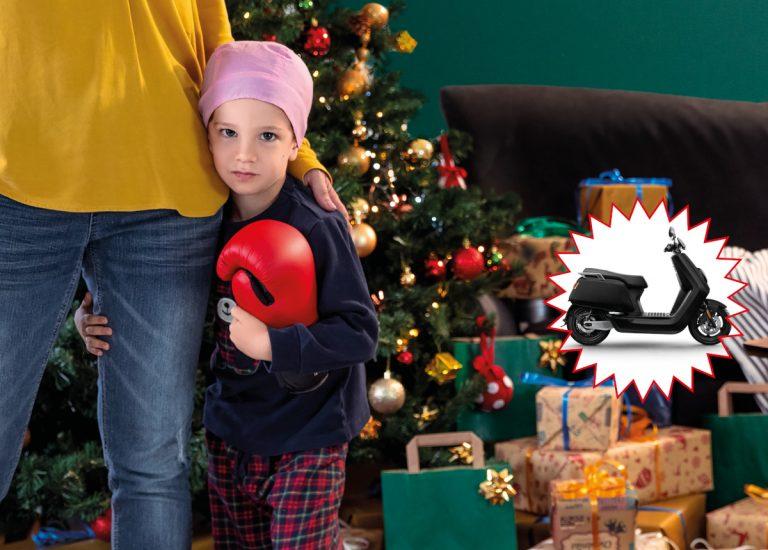 La Lotteria di Natale sostiene Child Care